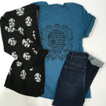 Load image into Gallery viewer, Sugar Skull Graphic Tee