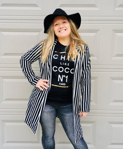 Saved By The Stripes Duster