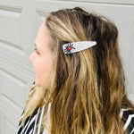 Load image into Gallery viewer, Itsy Bitsy Spider Sparkly Wide Hair Clip - KaraMarie Exclusive!