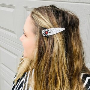 Itsy Bitsy Spider Sparkly Wide Hair Clip - KaraMarie Exclusive!