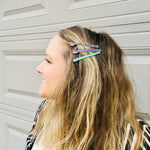 Load image into Gallery viewer, Spooky Thin Hair Clips - KaraMarie Exclusive! Multiple Colors!