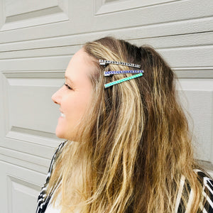 Spooky Thin Hair Clips - KaraMarie Exclusive! Multiple Colors!