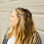 Load image into Gallery viewer, ITS ELECTRIC! Thin Hair Clip - KaraMarie Exclusive! Multiple Colors! - KaraMarie Boutique