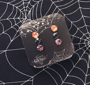Halloween Earring Set! Post or Drop!