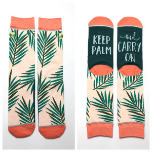 Keep Palm and Carry On - KaraMarie Boutique
