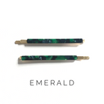 Load image into Gallery viewer, Emerald Bobby Pins - KaraMarie Boutique