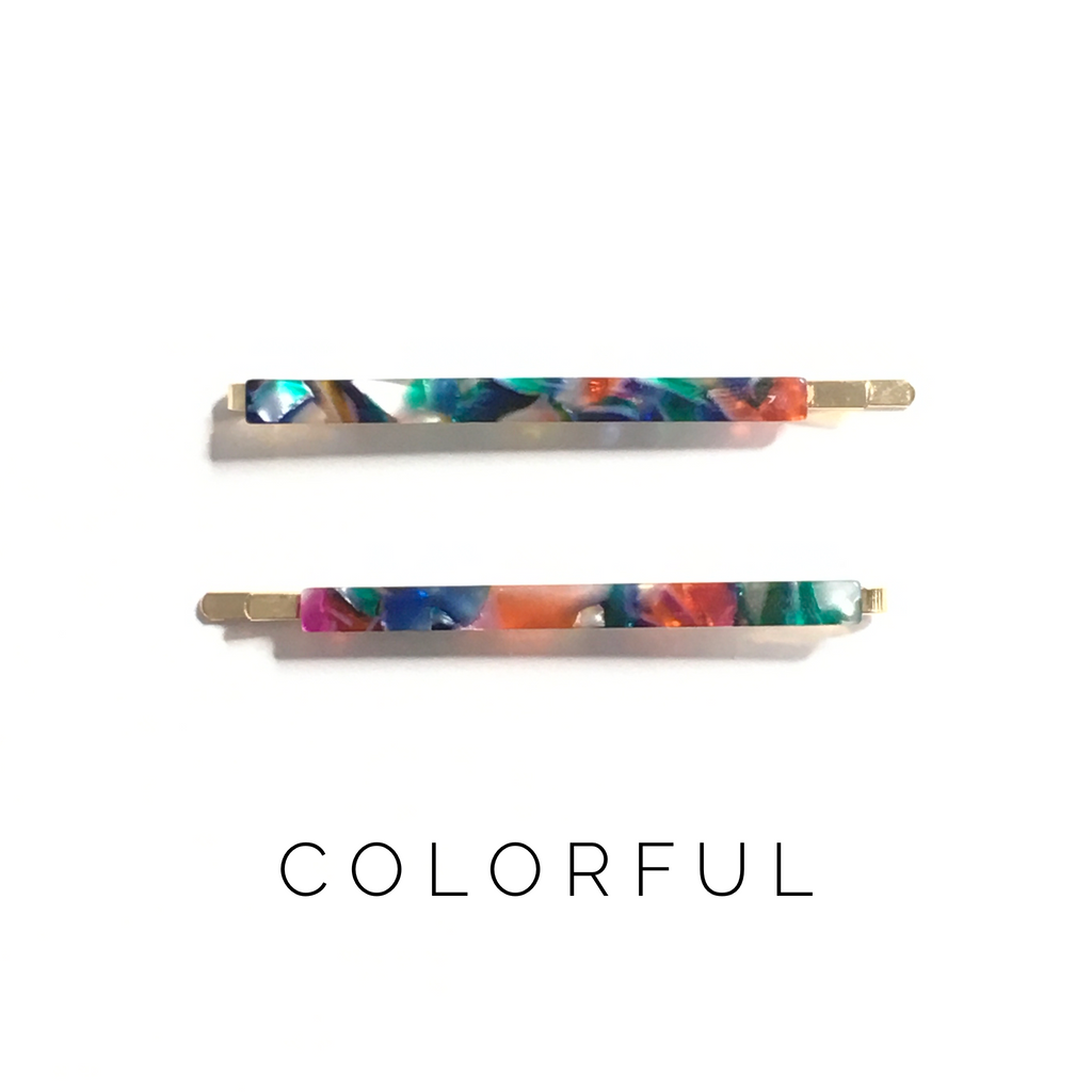 Colorful Bobby Pins - KaraMarie Boutique
