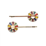 Load image into Gallery viewer, Pin Wheel Bobby Pins - KaraMarie Boutique