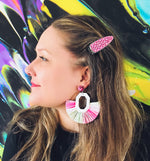 Load image into Gallery viewer, Fruit Loopz Fringe Earrings - KaraMarie Boutique