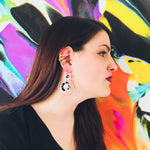 Load image into Gallery viewer, Circle Swing Earrings - Multiple Colors! - KaraMarie Boutique
