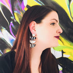 Load image into Gallery viewer, Jailbird Drop Earrings - KaraMarie Boutique