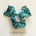 Load image into Gallery viewer, Boho Scrunchies with Bow - Multiple Colors! - KaraMarie Boutique