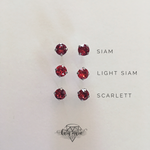 Load image into Gallery viewer, 8mm Crystal Post Earring - Multiple Colors! - KaraMarie Boutique
