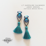 Load image into Gallery viewer, Beachy Tassel Earrings - Multiple Colors! - KaraMarie Boutique