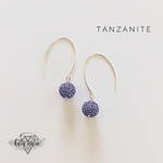 Load image into Gallery viewer, Sparkle Ball Drop Earrings - Multiple Colors! - KaraMarie Boutique
