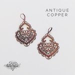 Load image into Gallery viewer, Filigree Metal Earrings - Multiple Colors! - KaraMarie Boutique