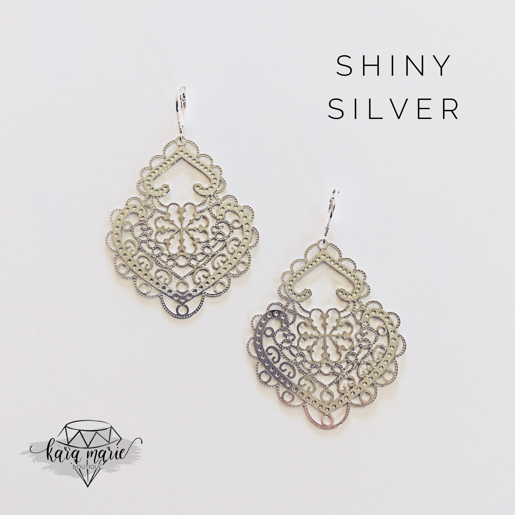 Filigree Metal Earrings - Multiple Colors! - KaraMarie Boutique