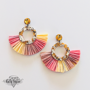 Sunset Fringe Earrings - KaraMarie Boutique