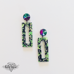Jungle Fever Earrings - KaraMarie Boutique