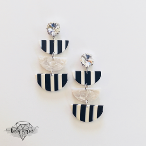 Jailbird Drop Earrings - KaraMarie Boutique