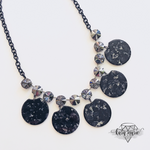 Load image into Gallery viewer, Dark Knight Statement Necklace - KaraMarie Boutique