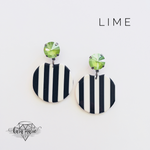 Load image into Gallery viewer, Jailhouse Rock Earrings - Multiple Colors! - KaraMarie Boutique