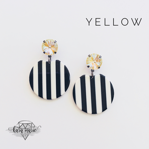 Jailhouse Rock Earrings - Multiple Colors! - KaraMarie Boutique