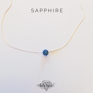 Sparkle Ball Necklace - Multiple Colors! - KaraMarie Boutique