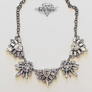 Crown Royal Statement Necklace - KaraMarie Boutique