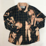 Load image into Gallery viewer, Small Bleached Vintage Flannel - One of a Kind - Franklin Flannel - Small