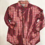 Load image into Gallery viewer, XL Bleached Vintage Flannel - One of a Kind - Franklin Flannel - XL