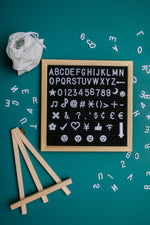 Load image into Gallery viewer, Let Lettering Lift Your Spirits Felt Board Set