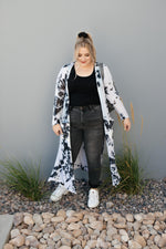 Load image into Gallery viewer, Long Game Black & White Cardigan