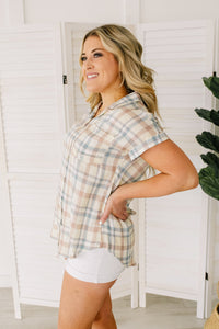Plaid To The Bone Top