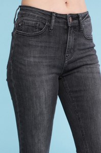 Judy Blue Skinny Mid-Rise Charcoal Denim - KaraMarie Boutique