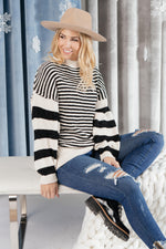 Load image into Gallery viewer, Simone Striped Sweater