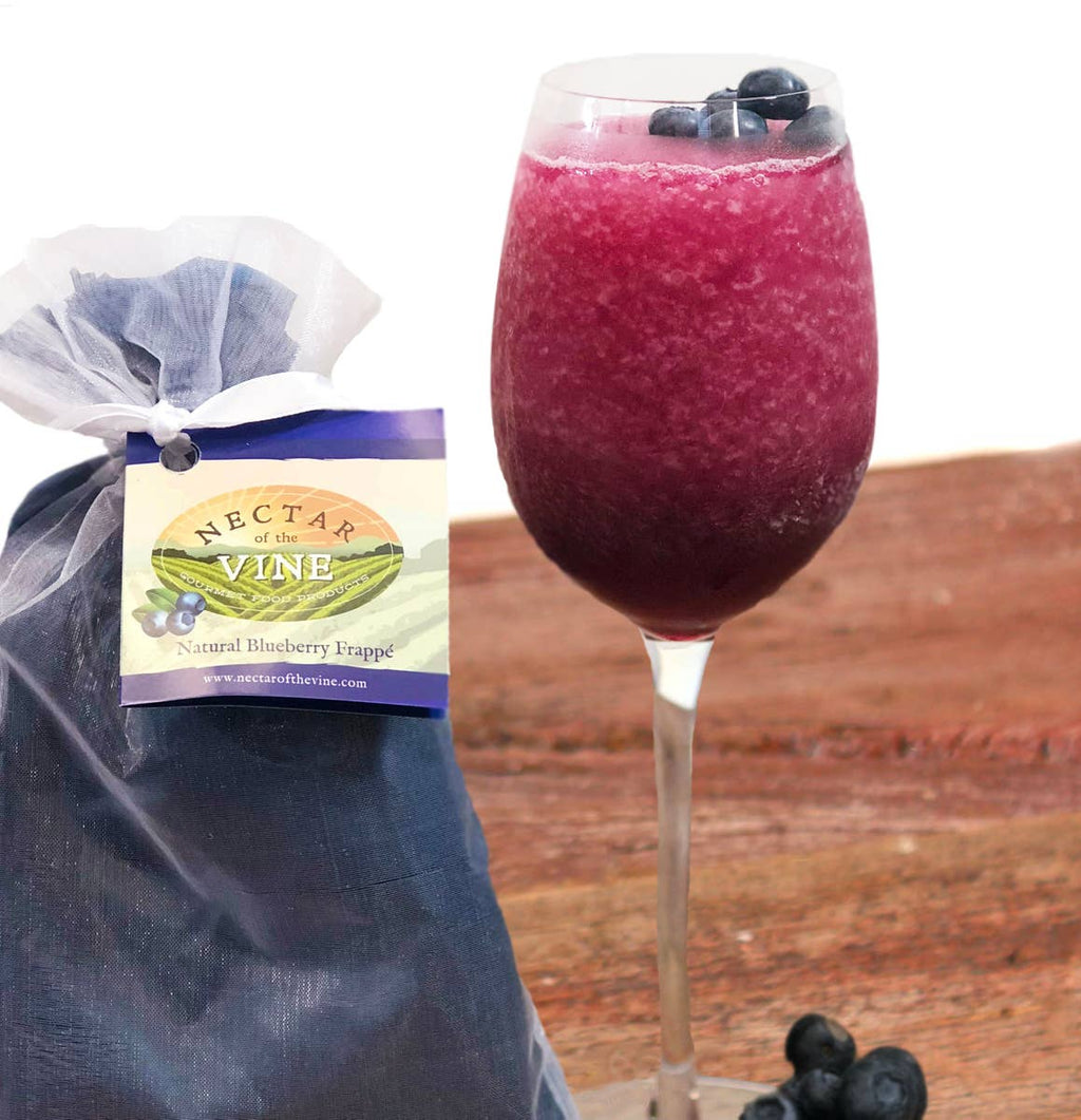 Natural Blueberry Wine Slushy Mix - KaraMarie Boutique