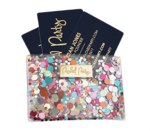 Confetti Business Card Holder - KaraMarie Boutique