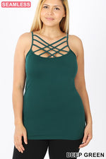 Load image into Gallery viewer, Summer Shades Criss Cross Camisole - KaraMarie Boutique