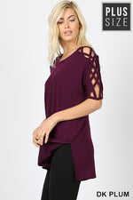 Load image into Gallery viewer, Sassy Criss-Cross Sleeve Top