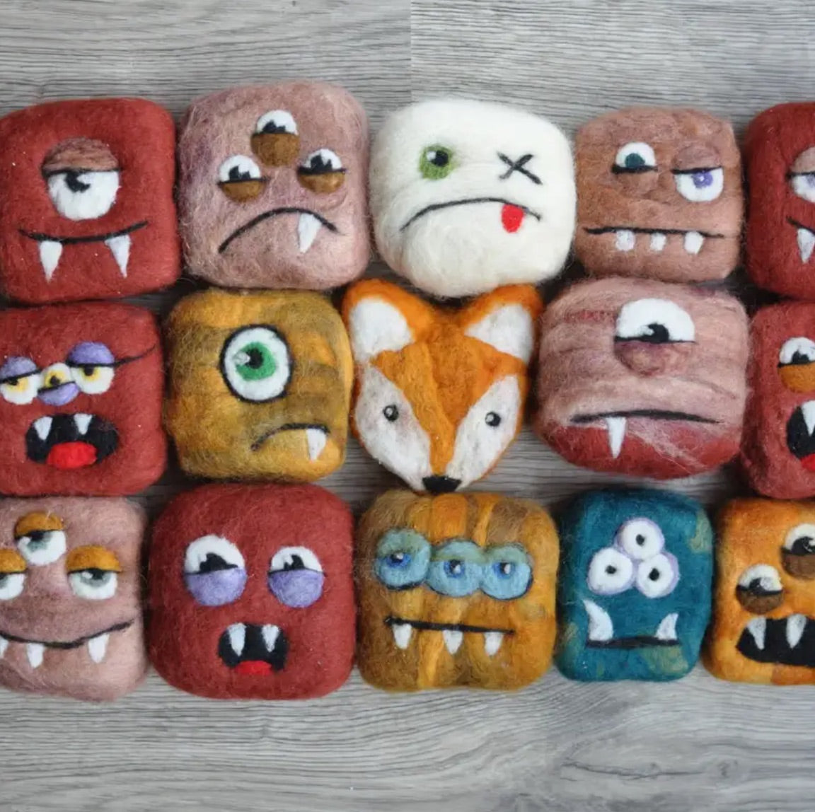 Mystery Felted Monster Soap - KaraMarie Boutique