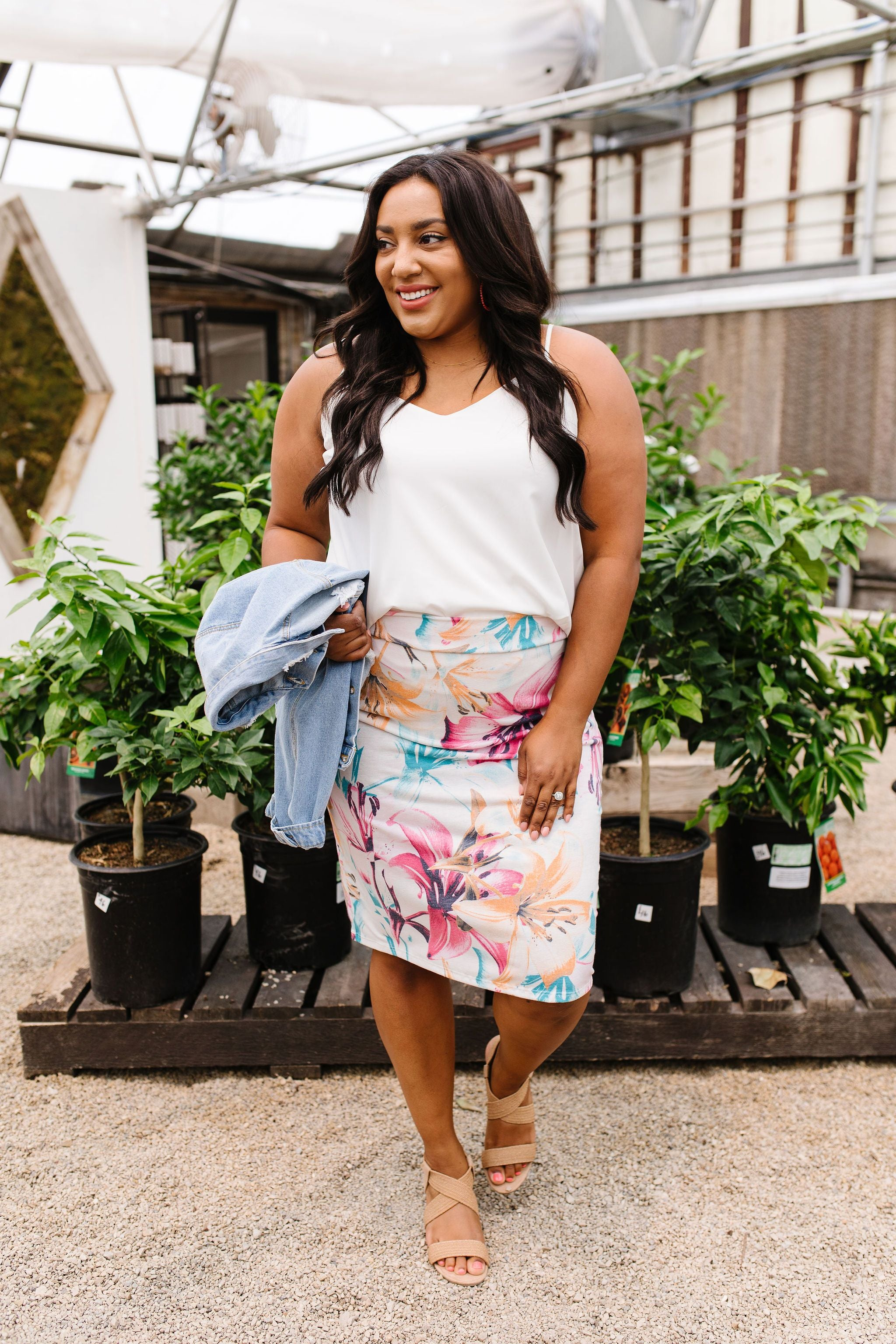 Rhapsody In Bloom Skirt - KaraMarie Boutique