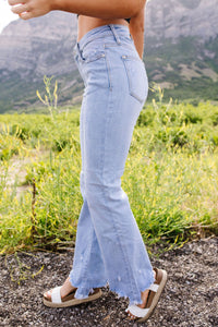 Shock & Jaws Bootcut Jeans - KaraMarie Boutique