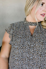 Load image into Gallery viewer, The V Is The Key Blouse - KaraMarie Boutique