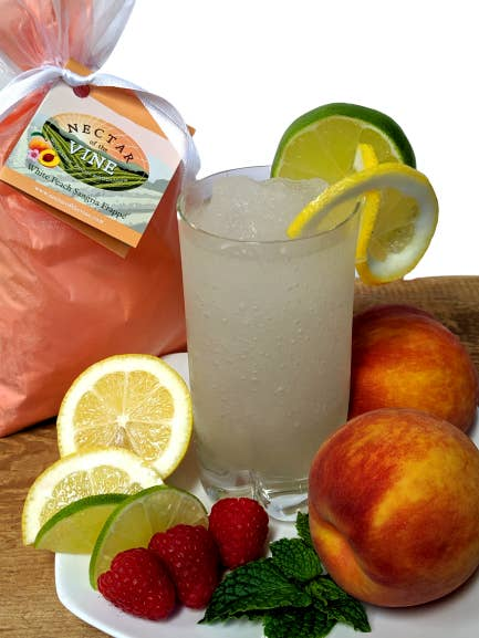 White Peach Sangria Wine Slushy Mix - KaraMarie Boutique