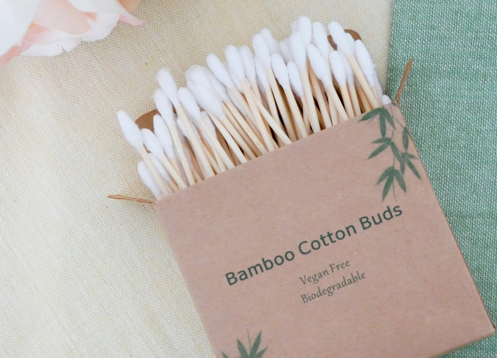Bamboo Cotton Buds - 100 Pieces