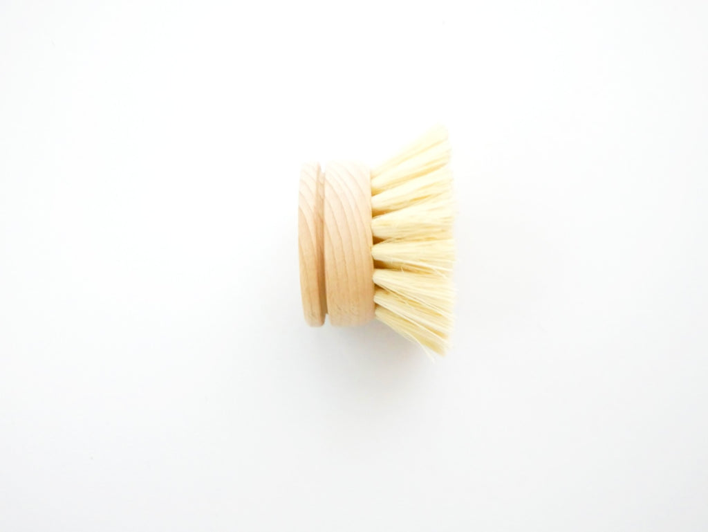 Wood Replacement Head with Plant-Based Bristles