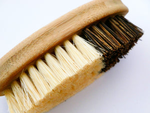 Wood Vegetable Brush with Plant-Based Bristles