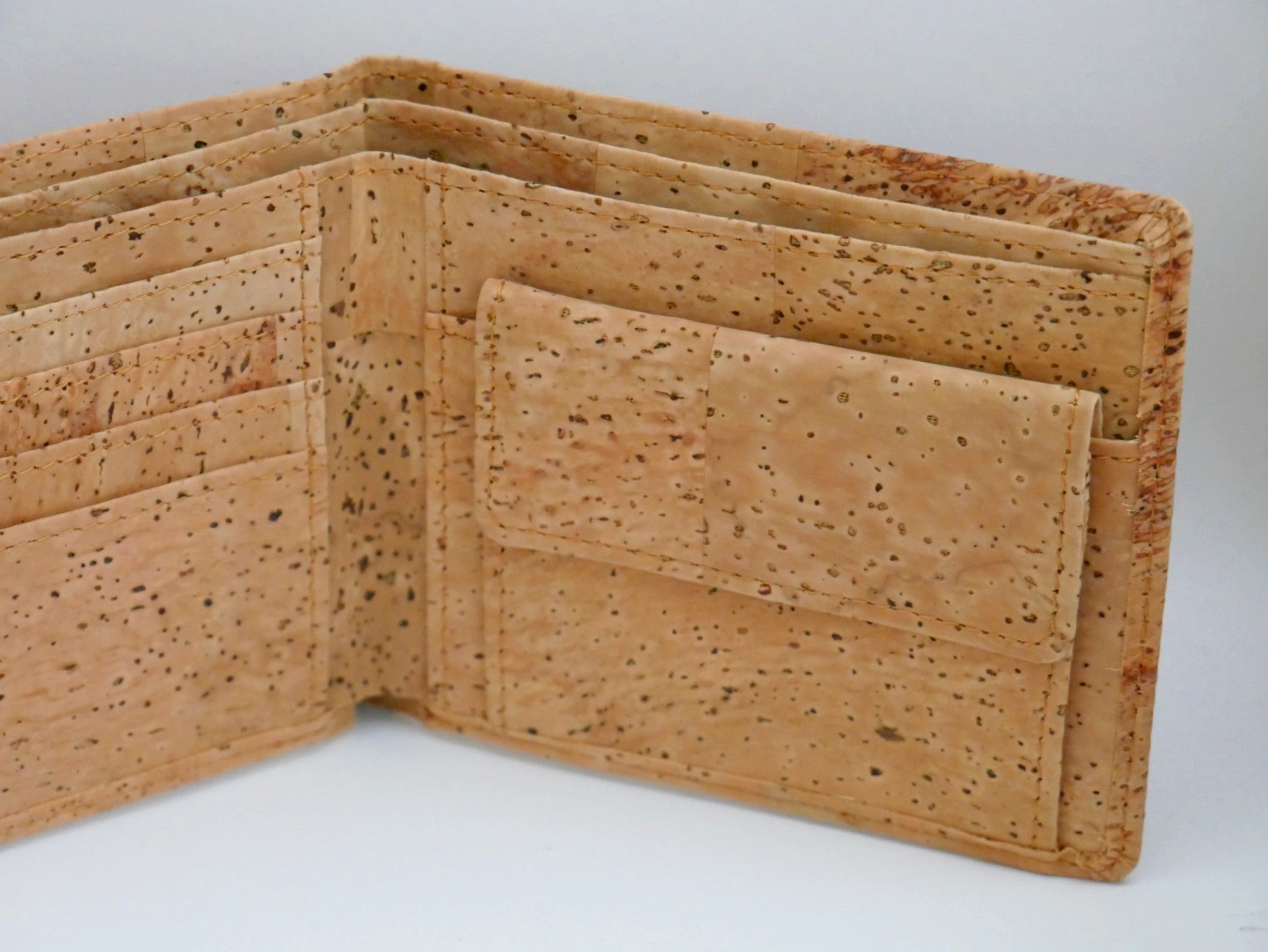 Vegan Cork Leather Wallet