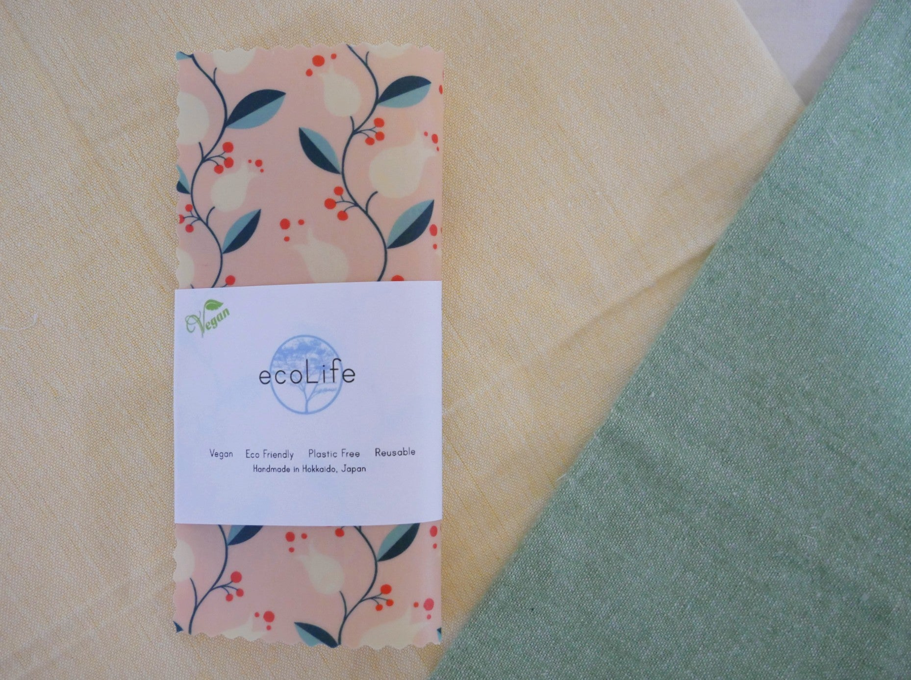 Vegan Wax Wrap (Organic Cotton)
